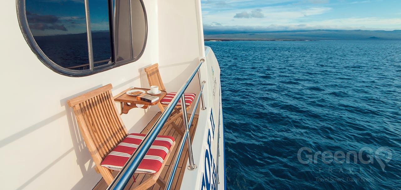 Tip Top 2 Galapagos Catamaran - Balcony