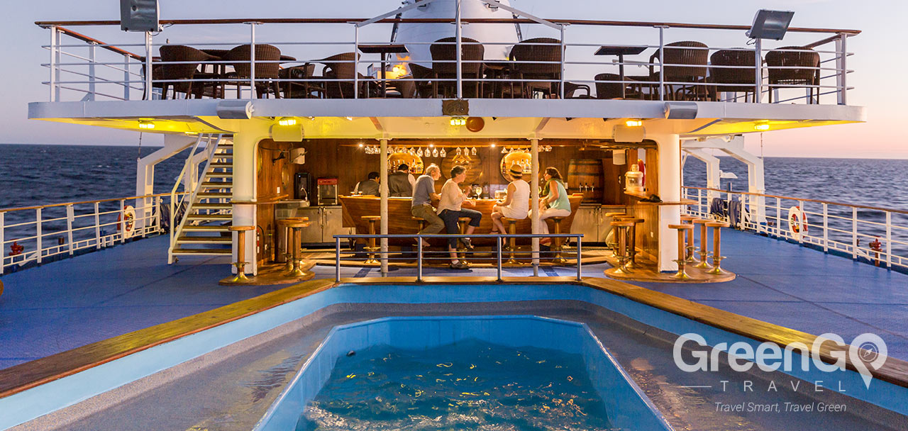 Legend Galapagos Ship - Pool