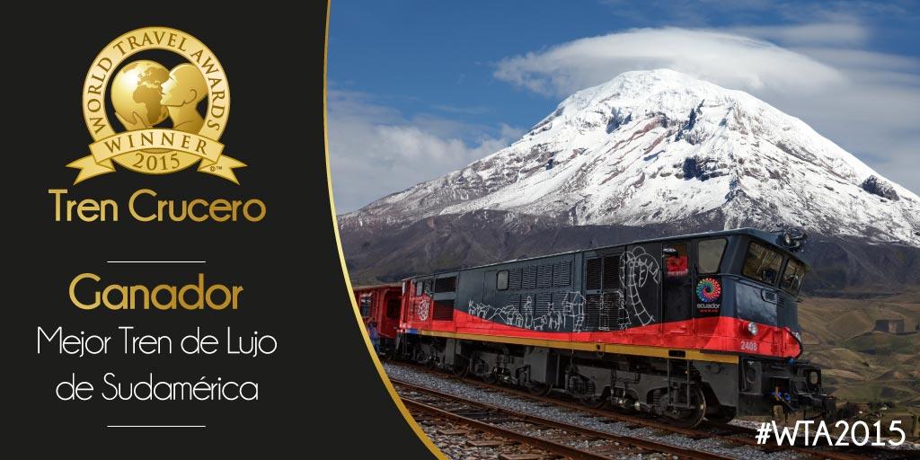 Train World Travel Award 2015