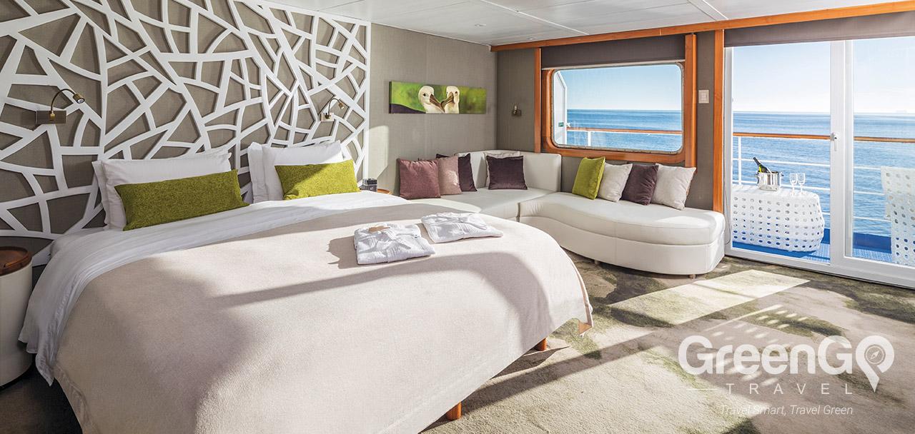 Legend Galapagos Ship - Legend Balcony Suite