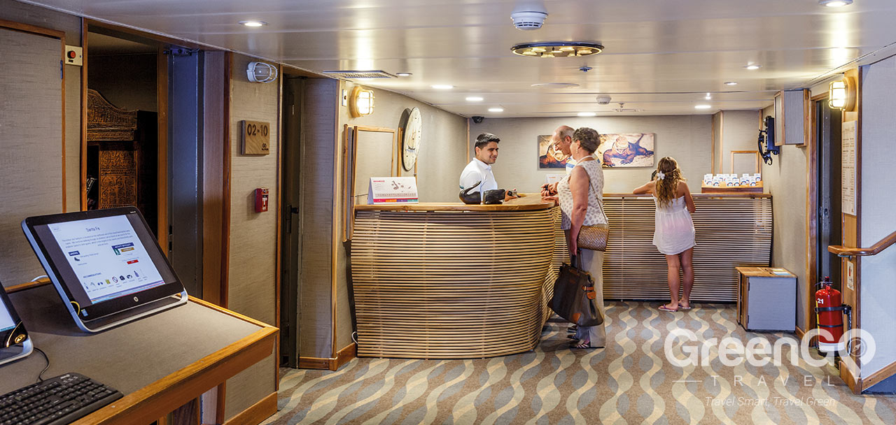 Legend Galapagos Ship - Reception