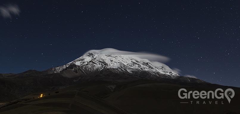 chimborazo at night
