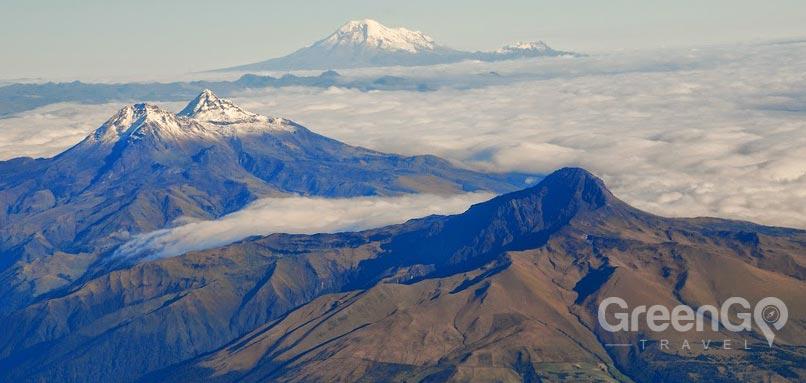 Ecaudor Mountain range