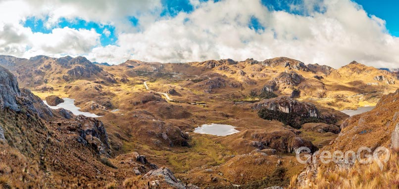 5 best hiking trails in ecuador Cajas