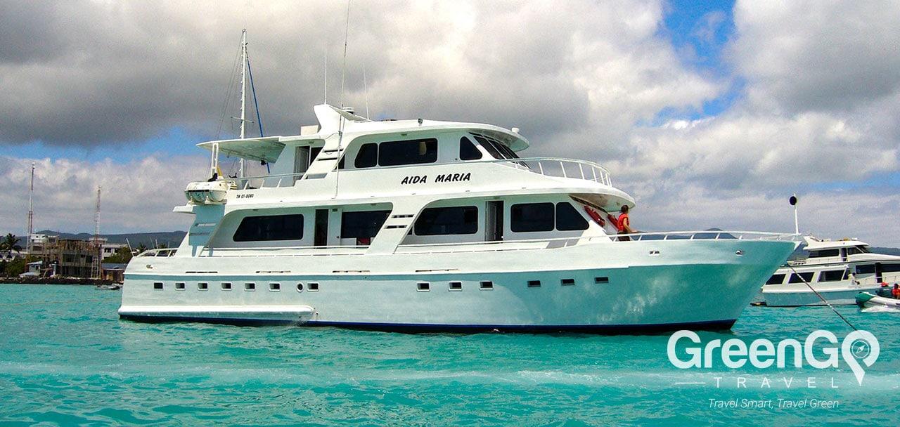 Aida Maria Galapagos Yacht - Panoramic View