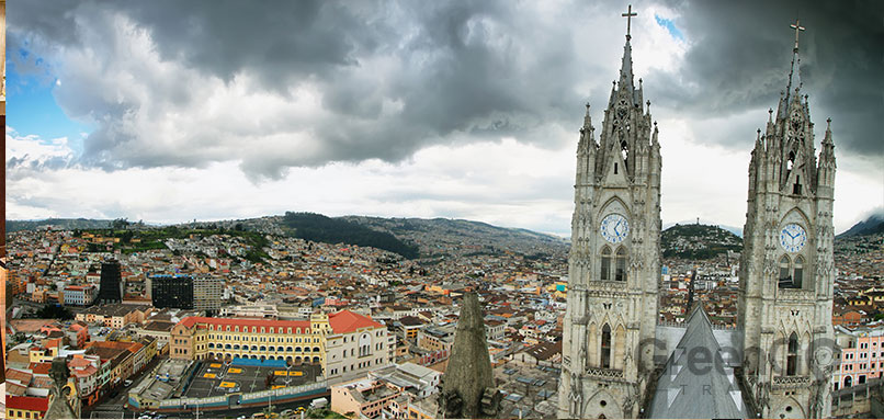 Quito a wedding destination - Panoramic View