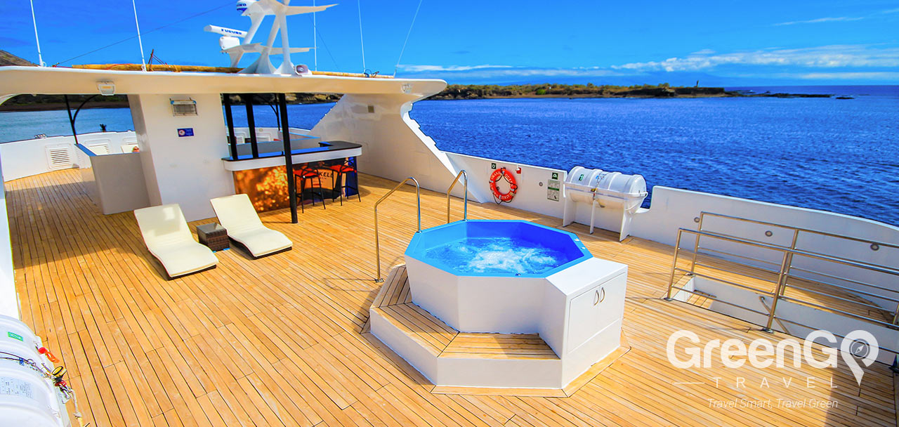 Jacuzzi on Deck of Beatriz