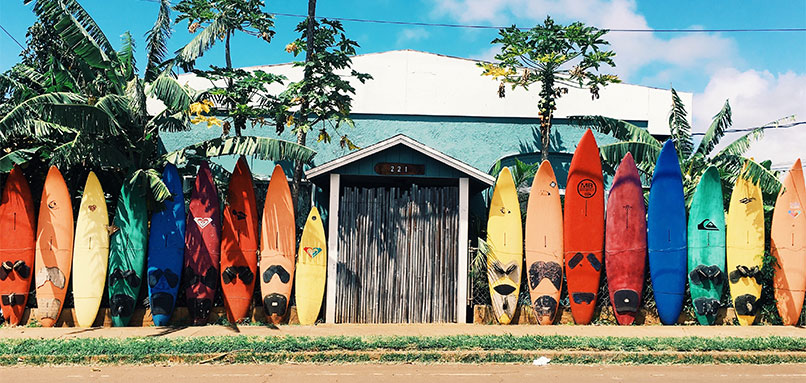 Surf-boards-in-front-of-house