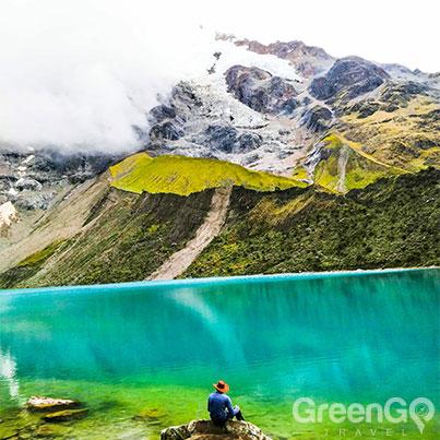 Humantay-Glacier