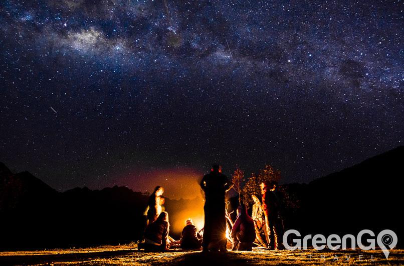 Stars on the Inca trail