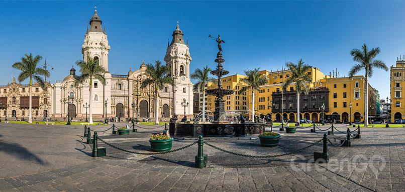 peru-ecuador-and-galapagos-tours - Lima Square