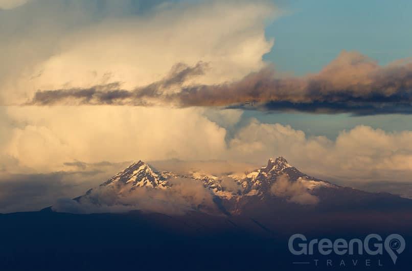 Photo of El Altar volcano Ecuador Nature
