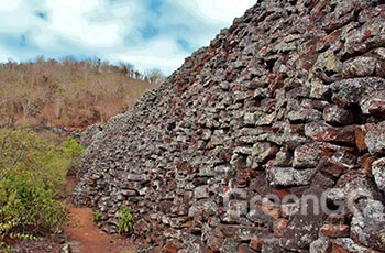 Wall of Tears Galapagos