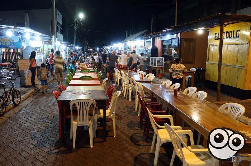 Galapagos land-based - kiosko restaurant
